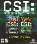 CSI Double Pack Windows Front Cover