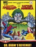 The Amazing Spider-Man and Captain America in Dr. Doom's Revenge! Commodore 64 Front Cover