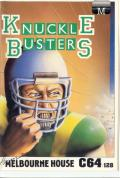 Knuckle Busters Commodore 64 Front Cover