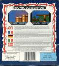 Bionic Commando Amiga Back Cover