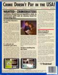 Where in the U.S.A. is Carmen Sandiego? Commodore 64 Back Cover