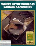Where in the World is Carmen Sandiego? Commodore 64 Front Cover