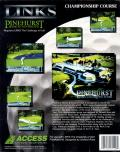 Links: Championship Course - Pinehurst Resort & Country Club DOS Back Cover