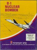 B-1 Nuclear Bomber Atari 8-bit Front Cover