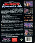 Body Blows Galactic Amiga Back Cover