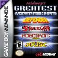 Midway's Greatest Arcade Hits Game Boy Advance Front Cover