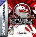 Mortal Kombat: Tournament Edition Game Boy Advance Front Cover