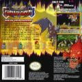 Super Ghouls 'N Ghosts Game Boy Advance Back Cover