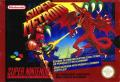 Super Metroid SNES Front Cover