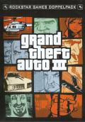 Rockstar Games Double Pack: Grand Theft Auto Xbox Inside Cover Left Side
