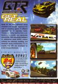GTR: FIA GT Racing Game Windows Back Cover