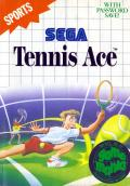 Tennis Ace SEGA Master System Front Cover