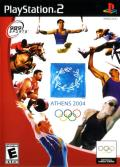 Athens 2004 PlayStation 2 Front Cover