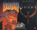 Quake and The Ultimate DOOM Compilation DOS Front Cover