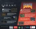 Quake and The Ultimate DOOM Compilation DOS Back Cover