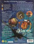 Atlantis: The Lost Tales DOS Back Cover