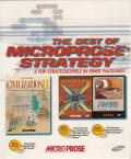 The Best of Microprose Strategy DOS Front Cover