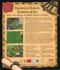 Conquest of the New World DOS Back Cover