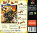 Pro Pinball: Fantastic Journey PlayStation Back Cover