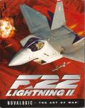 F-22 Lightning II DOS Front Cover