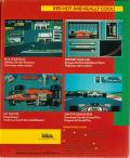 Ferrari Formula One DOS Back Cover