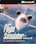 Microsoft Flight Simulator for Windows 95 Windows Front Cover