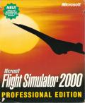Microsoft Flight Simulator 2000: Professional Edition Windows Front Cover