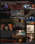 Gabriel Knight Mysteries: Limited Edition DOS Back Cover