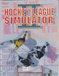 Hockey League Simulator II DOS Front Cover