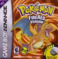 Pokémon FireRed Version Game Boy Advance Front Cover