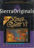King's Quest VI: Heir Today, Gone Tomorrow Windows 3.x Front Cover