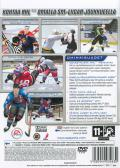NHL 2004 PlayStation 2 Back Cover