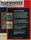 Legend of Faerghail DOS Back Cover