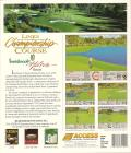 Links: Championship Course: Innisbrook - Copperhead DOS Back Cover