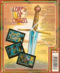 Lords of Chaos Commodore 64 Back Cover