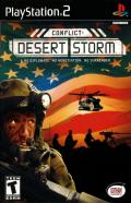 Conflict: Desert Storm PlayStation 2 Front Cover