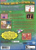 Dance Dance Revolution Extreme PlayStation 2 Back Cover