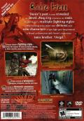 Devil May Cry 3: Dante's Awakening PlayStation 2 Back Cover