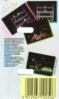 Agent X II: The Mad Prof's Back! Commodore 64 Back Cover