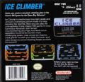 Ice Climber Game Boy Advance Back Cover