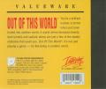 Out of This World DOS Other Jewel Case - Back