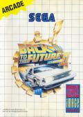 Back to the Future Part II SEGA Master System Front Cover