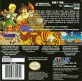 Lufia: The Ruins of Lore Game Boy Advance Back Cover