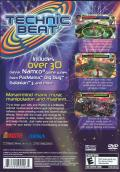 Technic Beat PlayStation 2 Back Cover