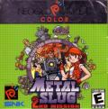 Metal Slug 2nd Mission Neo Geo Pocket Color Front Cover