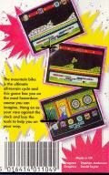 Mountain Bike Racer ZX Spectrum Back Cover