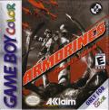 Armorines: Project S.W.A.R.M. Game Boy Color Front Cover