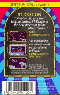 Saint Dragon ZX Spectrum Back Cover
