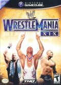 WWE WrestleMania XIX GameCube Front Cover