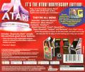 Atari Anniversary Edition PlayStation Back Cover